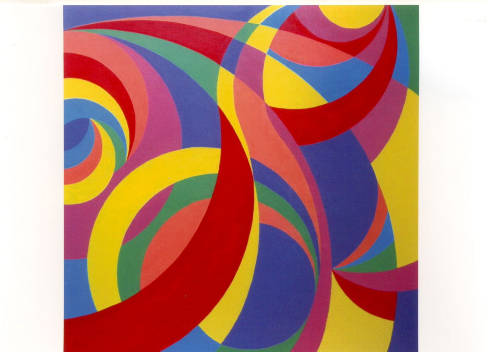 Círculos em concordância, de autoria da artista plástica Aline Paula Ragazzi